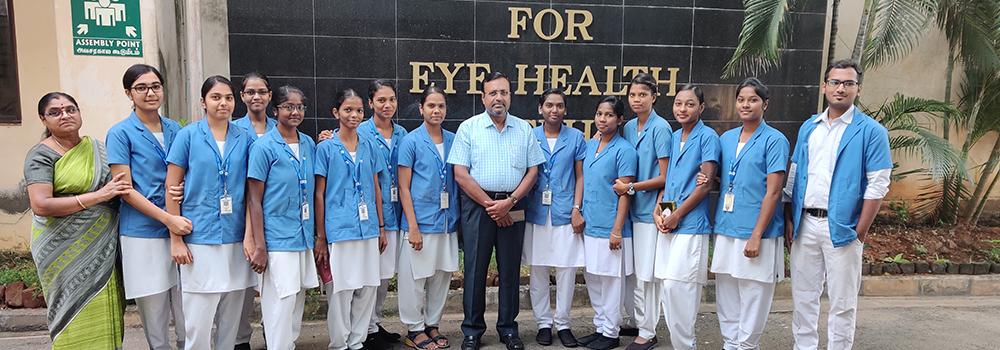 Joseph Eye Hospital School Optometry